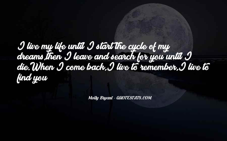 Sayings About The Cycle Of Life #1275667
