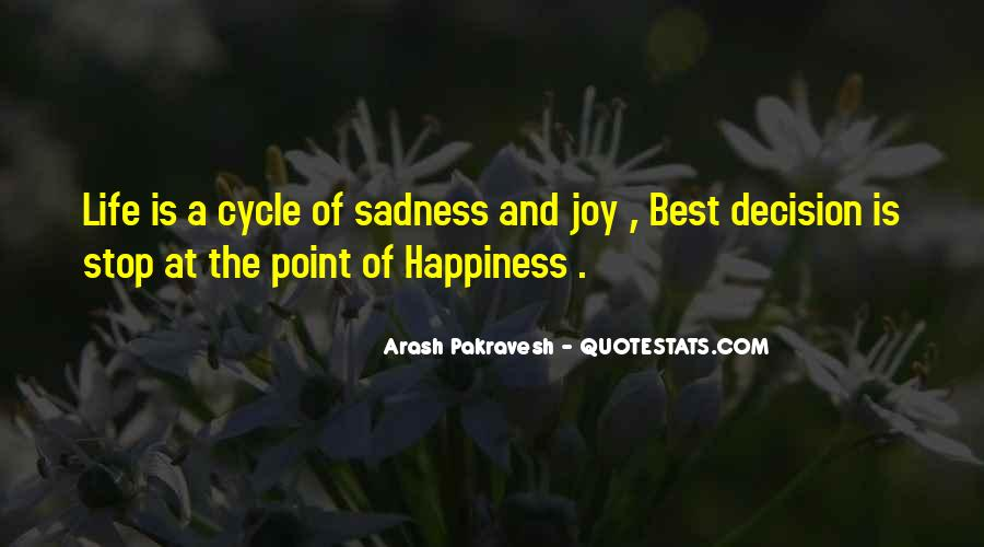 Sayings About The Cycle Of Life #1620428
