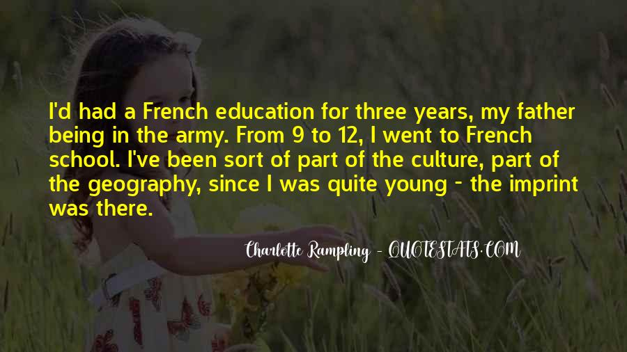 Sayings About Education In French #1413234