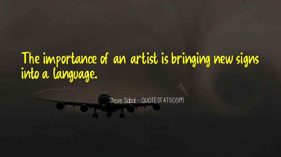 Sayings About Importance Of Language #358132