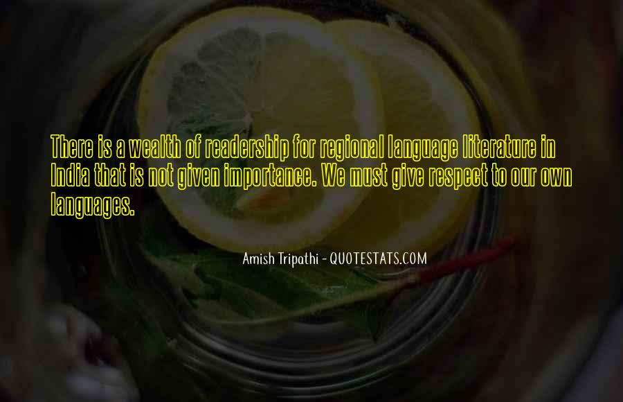 Sayings About Importance Of Language #566222