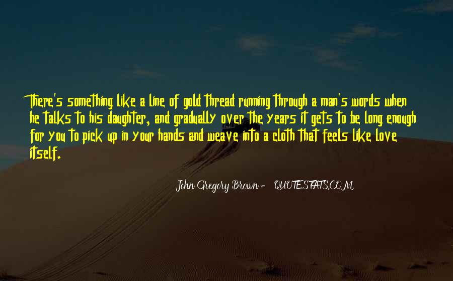 Sayings About A Fathers Hands #1198805