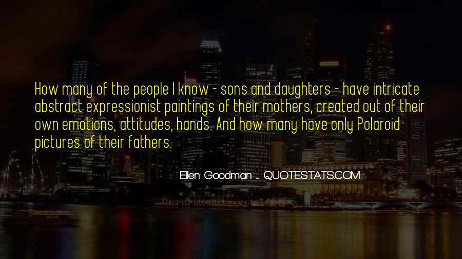 Sayings About A Fathers Hands #234359