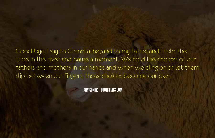 Sayings About A Fathers Hands #919743