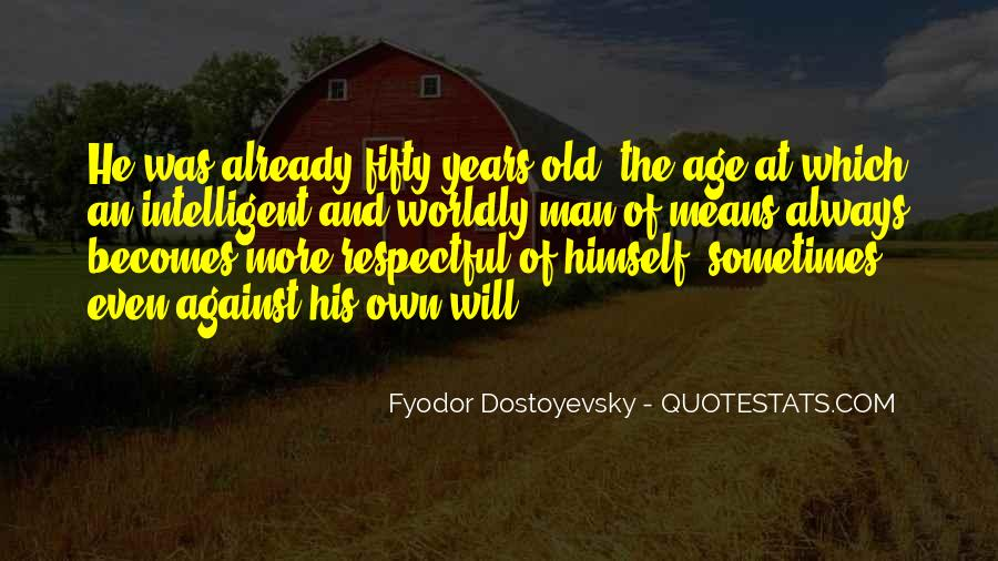 Sayings About Fifty Years Old #327848