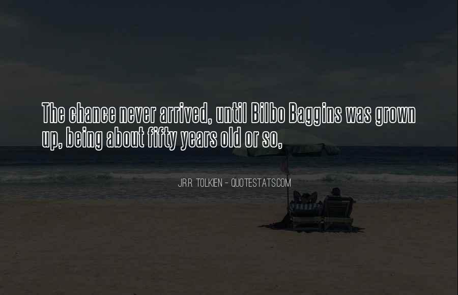 Sayings About Fifty Years Old #985597