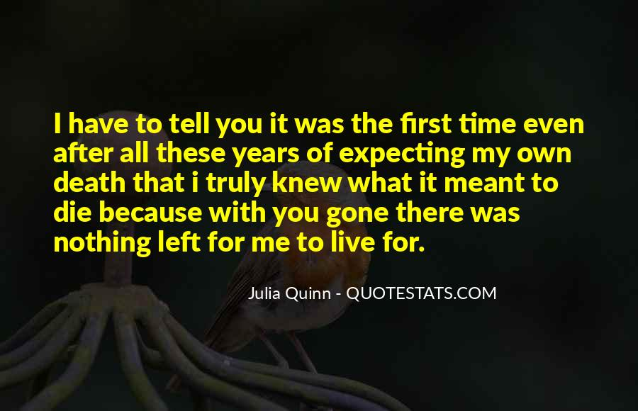 Sayings About My First Love #109741
