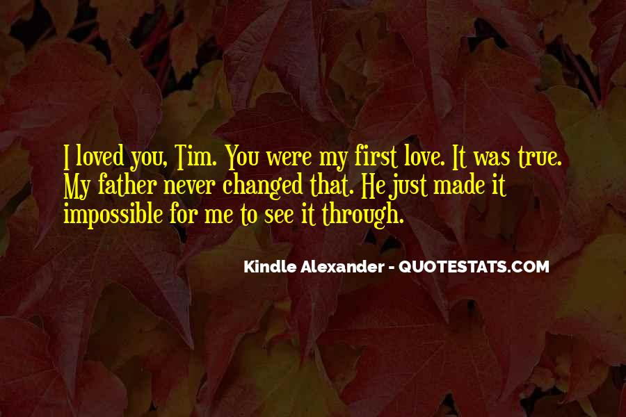 Sayings About My First Love #11889
