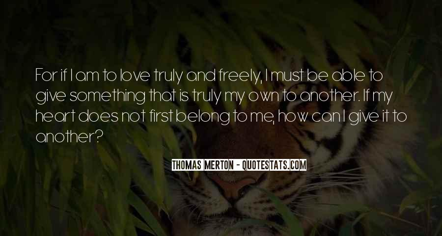 Sayings About My First Love #160744