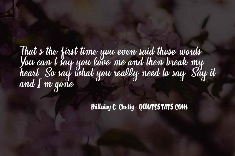 Sayings About My First Love #165978