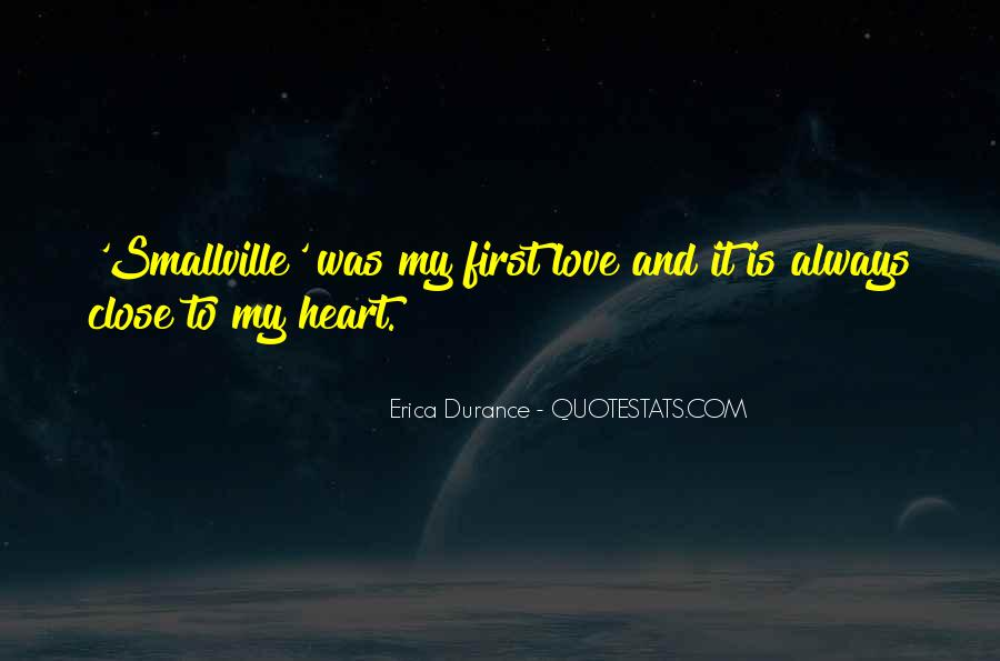 Sayings About My First Love #173031