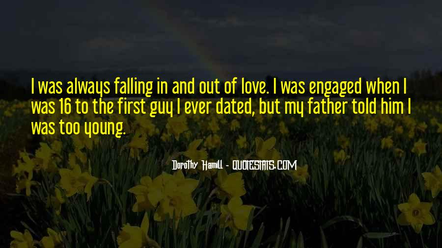 Sayings About My First Love #20897