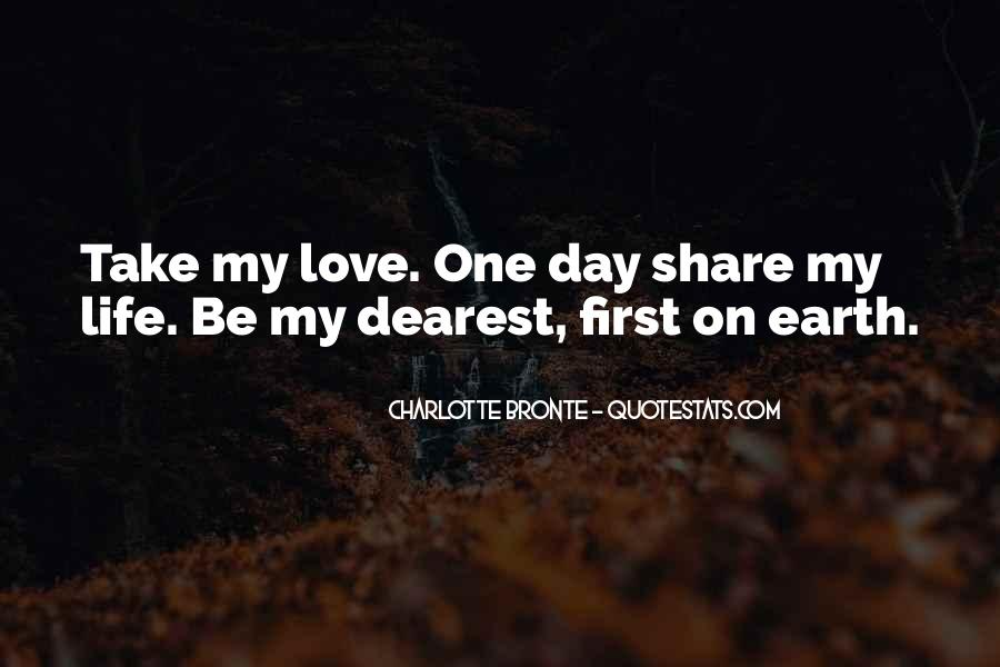 Sayings About My First Love #45636