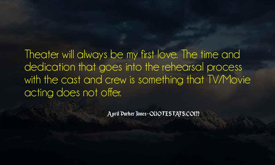 Sayings About My First Love #85459