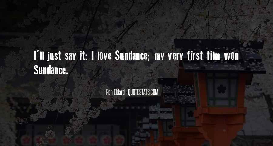 Sayings About My First Love #88940