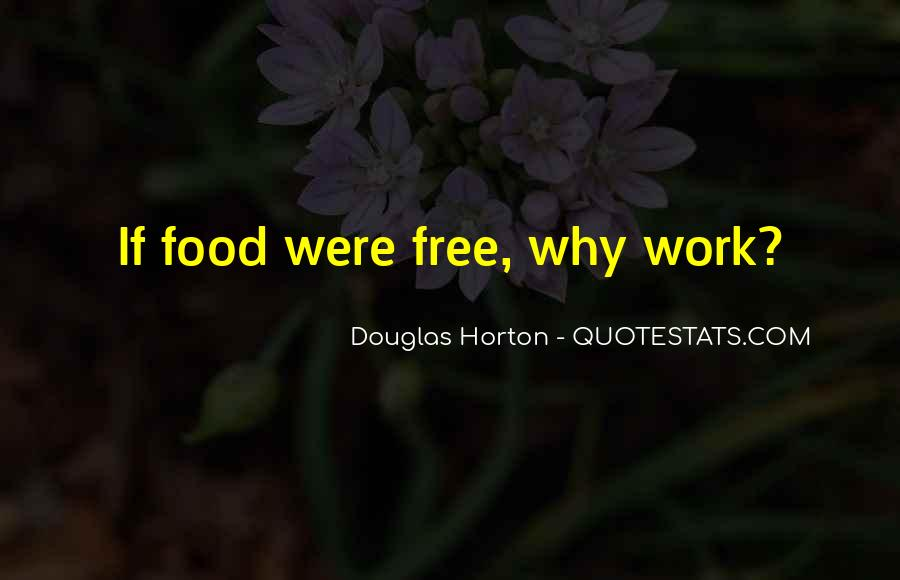 Sayings About Free Food #250919