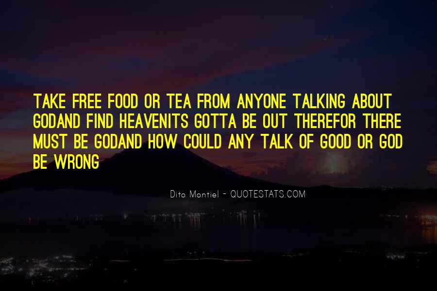 Sayings About Free Food #346955