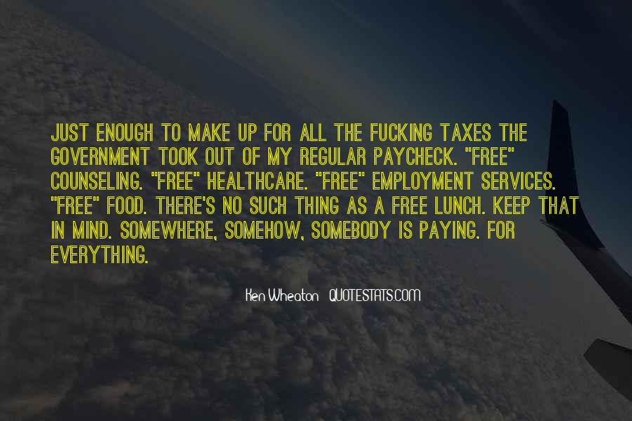 Sayings About Free Food #630261