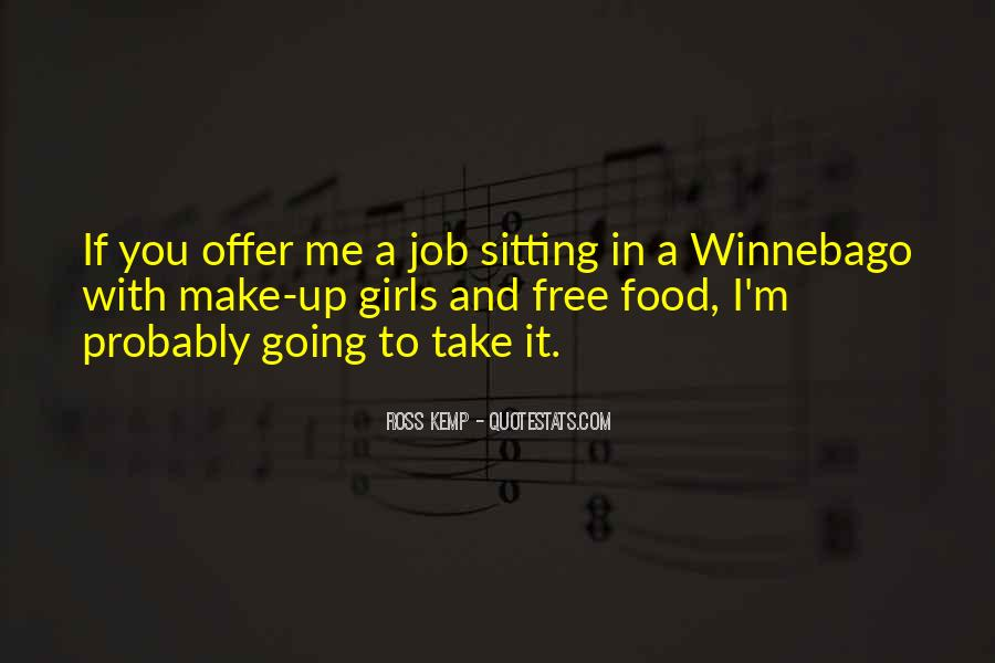 Sayings About Free Food #908397