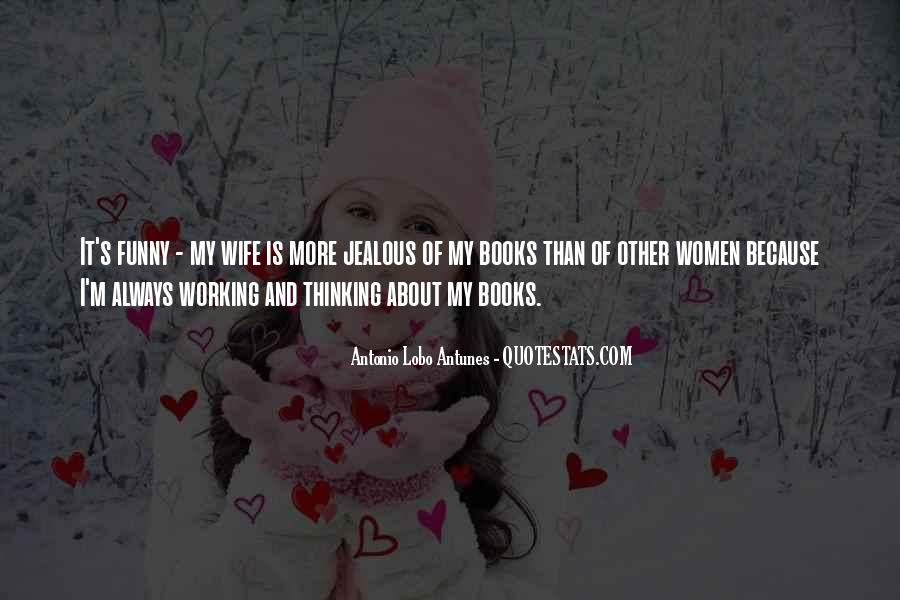 Sayings About Jealous Wife #1179771