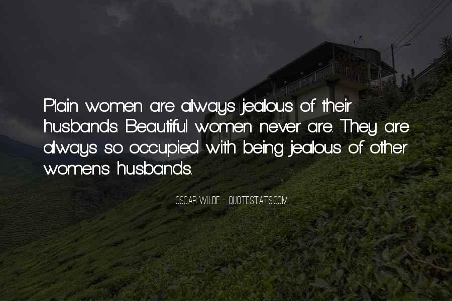 Sayings About Jealous Wife #266581