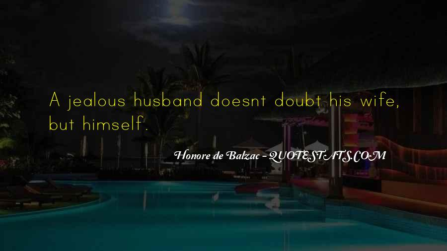 Sayings About Jealous Wife #815776