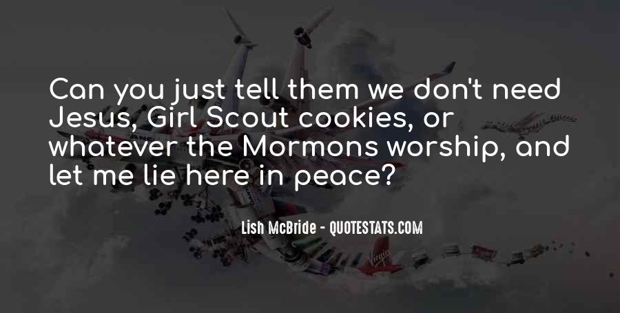Sayings About Girl Scout #244578