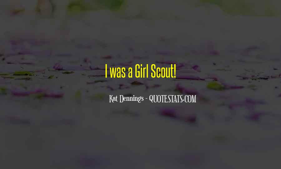 Sayings About Girl Scout #765817