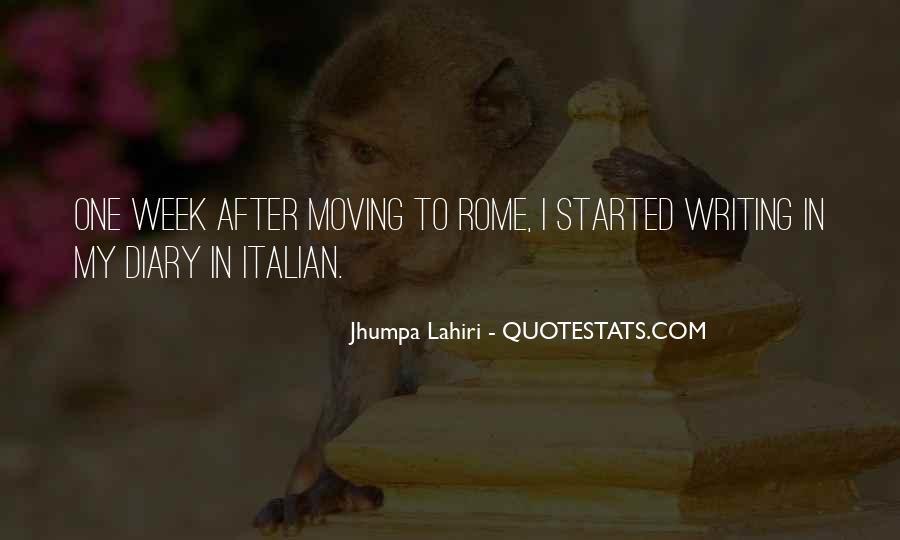 Sayings About Rome In Italian #1551771