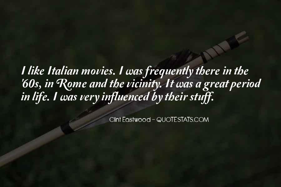Sayings About Rome In Italian #177835