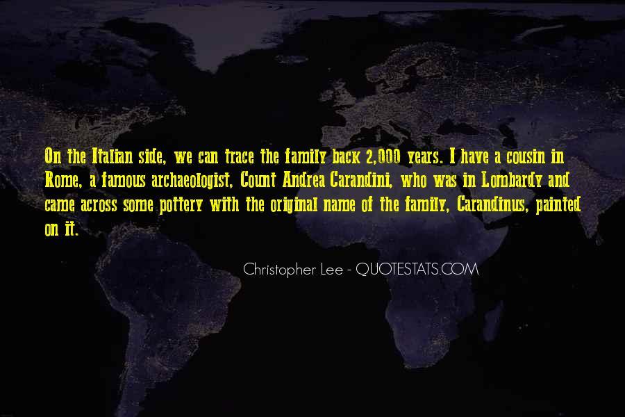 Sayings About Rome In Italian #843966