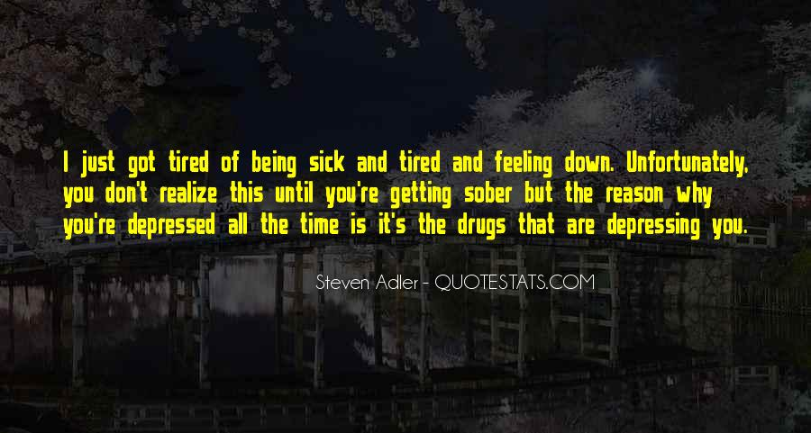Sayings About Getting Sick #582080