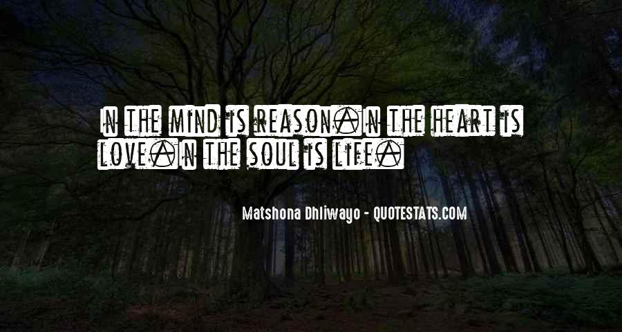 Sayings About Soul And Heart #108443