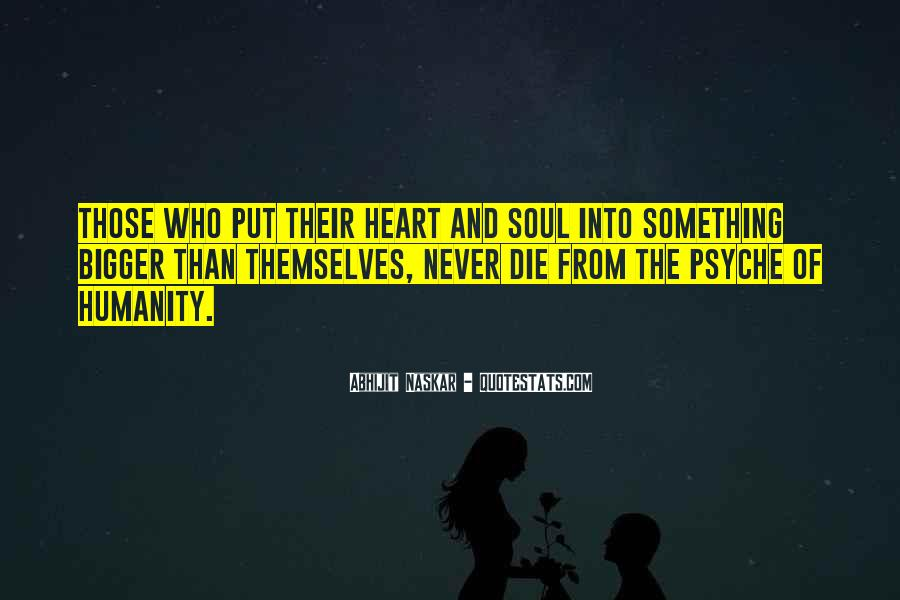 Sayings About Soul And Heart #15108