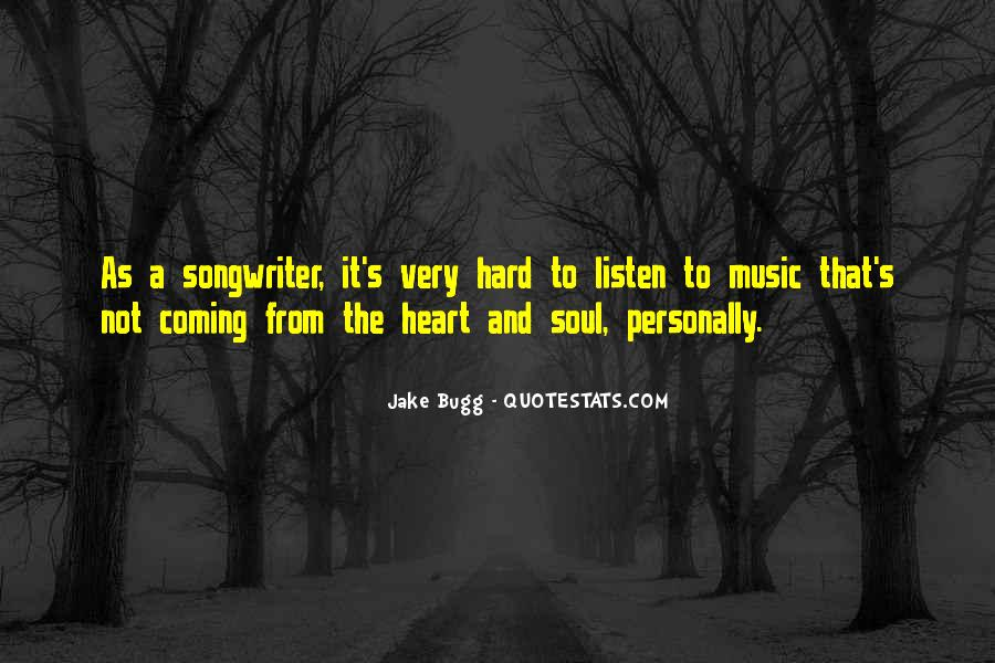 Sayings About Soul And Heart #2590