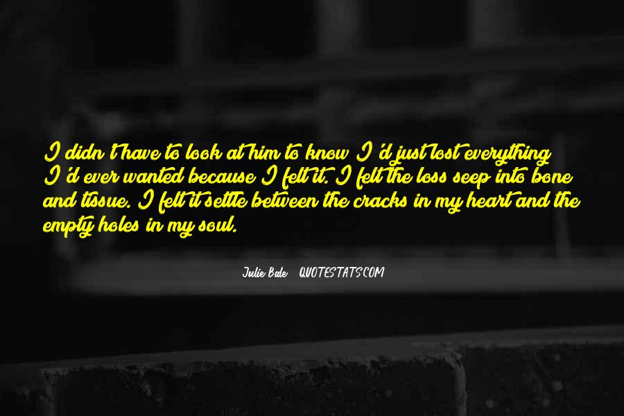 Sayings About Soul And Heart #33152