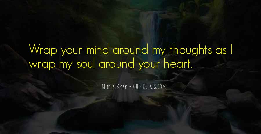 Sayings About Soul And Heart #55816