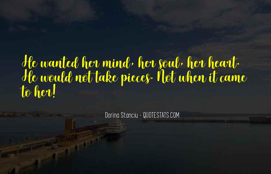 Sayings About Soul And Heart #86380