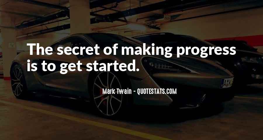 Sayings About Making Progress #1015383
