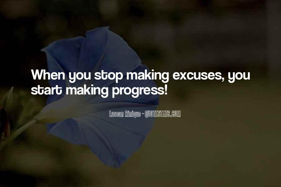 Sayings About Making Progress #295261