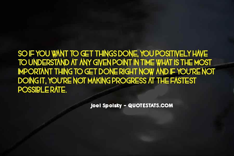 Sayings About Making Progress #346888