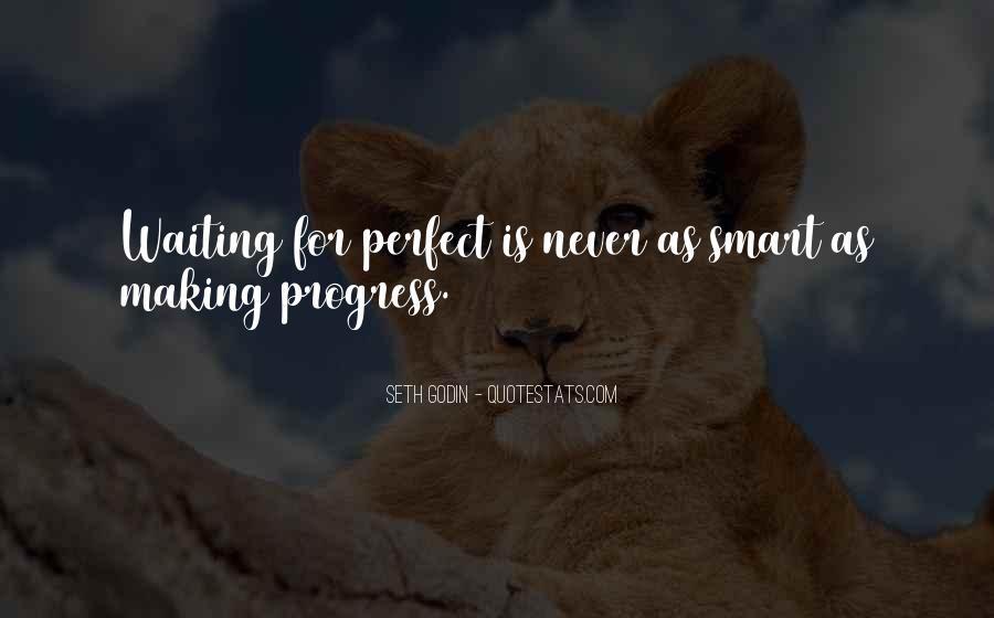 Sayings About Making Progress #442055