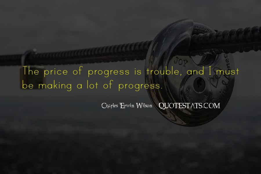Sayings About Making Progress #766024