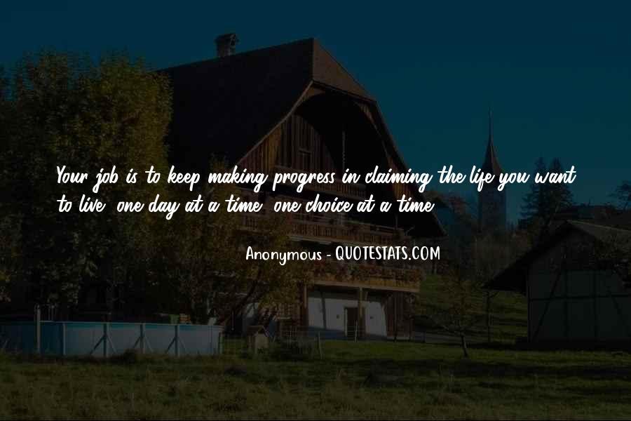 Sayings About Making Progress #871973