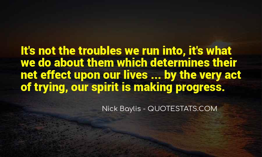 Sayings About Making Progress #908354