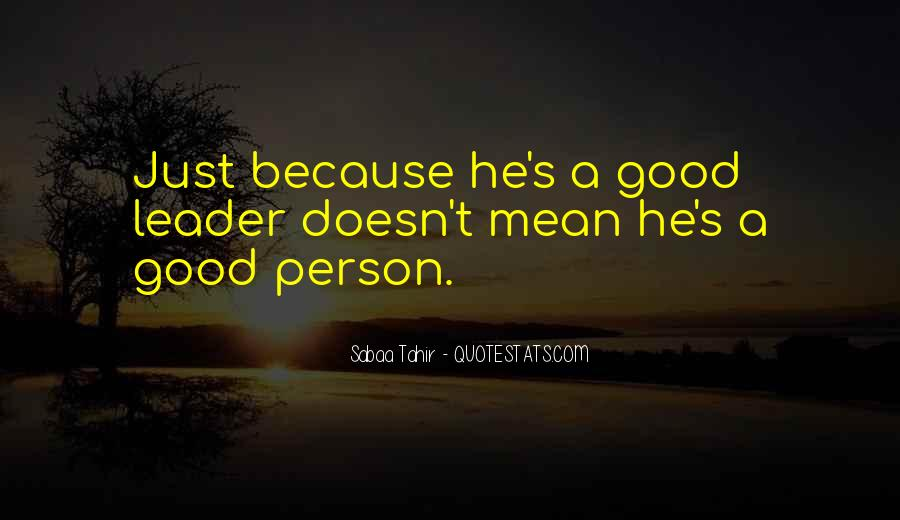 Sayings About Mean Person #372549