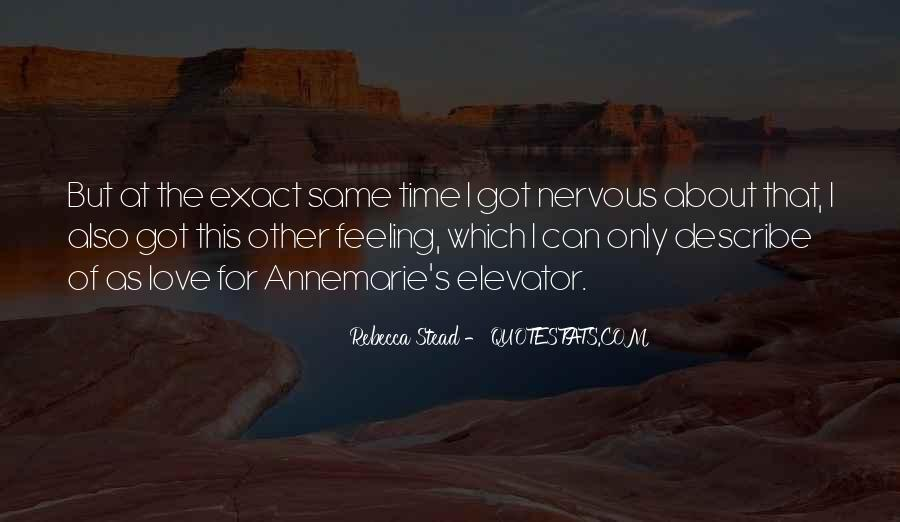Sayings About Feeling Nervous #1289594