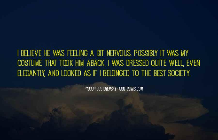 Sayings About Feeling Nervous #1579543