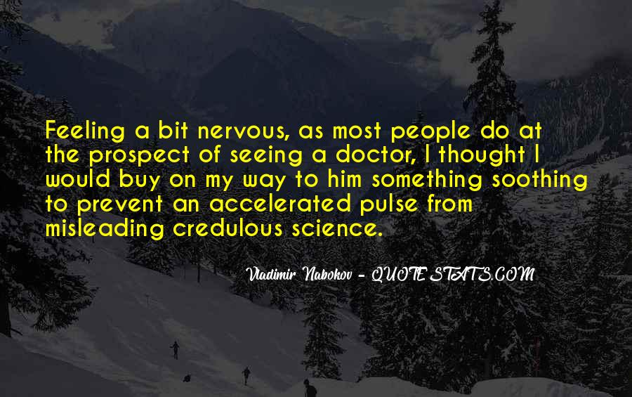 Sayings About Feeling Nervous #750439
