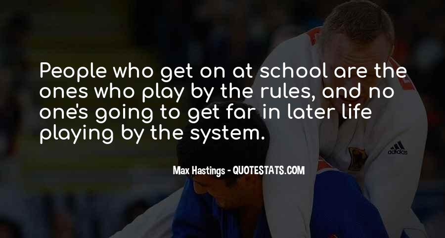 Sayings About School Rules #738736